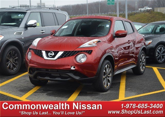 new 2017 nissan juke sv sport utility in lawrence n1239 commonwealth nissan. Black Bedroom Furniture Sets. Home Design Ideas